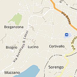 Mappa Di Campione Ditalia Cap 22060 Stradario E Cartina