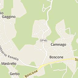 Mappa Di Olgiate Comasco Cap 22077 Stradario E Cartina Geografica