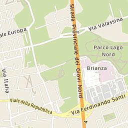 Mappa Di Novate Milanese Cap 20026 Stradario E Cartina Geografica