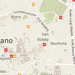 Mappa Di Milano Cap 2012120162 Stradario E Cartina Geografica