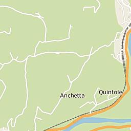Mappa di Bagno a Ripoli - CAP 50012, stradario e cartina ...