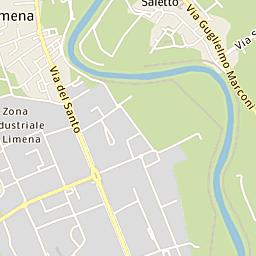 Mappa di Padova - CAP 35121:35143, stradario e cartina geografica ...