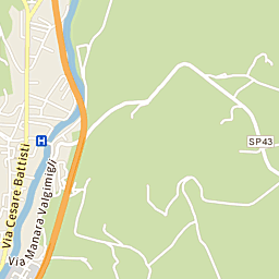 Mappa di Bagno di Romagna - CAP 47021, stradario e cartina ...