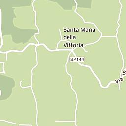 Mappa di Signoressa - CAP 31040, stradario e cartina geografica ...