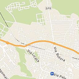 Mappa Di Gela Cap 93012 Stradario E Cartina Geografica Tuttocitta