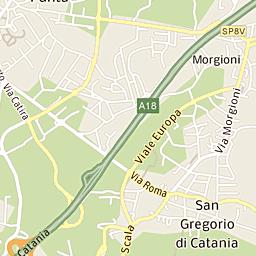 Mappa Di Catania Cap 9512195131 Stradario E Cartina Geografica