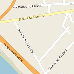 Mappa di Torino - Via Telemaco Signorini, 14 - CAP 10154, stradario ...