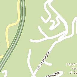 Mappa di Como - Via Isonzo - CAP 22100, stradario e cartina ...