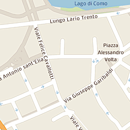 Mappa di Como - Viale Varese - CAP 22100, stradario e cartina ...