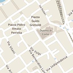Mappa di Como - Via Luigi Cadorna - CAP 22100, stradario e cartina ...