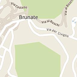 Mappa di Como - Via Dante Alighieri - CAP 22100, stradario e ...