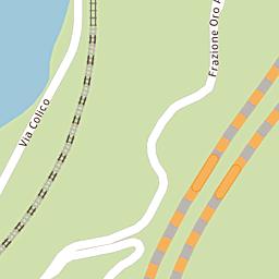 Mappa di Bellano - Strada Statale del Lago di Como e dello Spluga ...