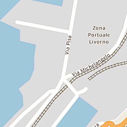 Mappa di Livorno - Piazza Giuseppe Mazzini - CAP 57123:57126 ...