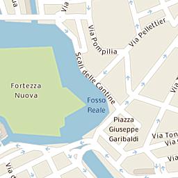 Mappa di Livorno - Via Cesare Battisti - CAP 57125, stradario e ...