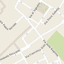 Mappa di Scandicci - Via Telemaco Signorini - CAP 50018, stradario e ...