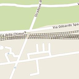 Mappa di Bagno a Ripoli - Via della Villa Cedri - CAP 50012 ...
