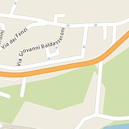 Mappa di Bagno a Ripoli - Via Alessandro Sinigaglia - CAP 50012 ...
