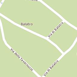 Mappa di Bagno a Ripoli - Via Africo - CAP 50012, stradario e ...