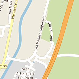 Mappa di Bagno di Romagna - Via Leonardo da Vinci - CAP 47021 ...