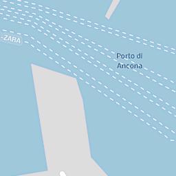 Mappa di Ancona - Via del Lavoro - CAP 60125, stradario e cartina ...
